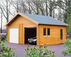 lugarde wooden garages